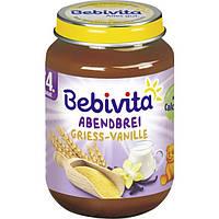 Bebivita Abendbrei Griess-Vanille - Вечерняя молочная манная каша с ванилью с 4 месяца, 190 г 190 г