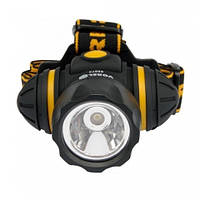 Фонарик VOREL 88673 налобный, ударостойкий 3 функции 3 батар ААА 1 LED/ 1 W