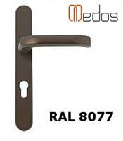 Нажимной гарнитур Medos Pluton 32/92/247, коричневый.