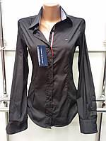 Молодежная рубашка женская молодежная Th 85 черного цвета M