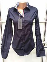 Рубашка женская Th 85 синего цвета M