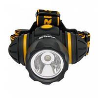 Фонарик VOREL 88674 светодиодный 3функц., 3хААА 1LED лампа 1W