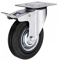 Колесо поворотное с крепежной панелью 3102-С-125-Р