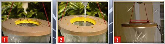 Ловушка для насекомых, мух, ос, комаров Flies Away - ловушка-приманка, фото 2