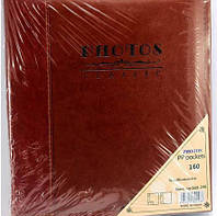 Фотоальбом 160-246 160ф  (10х15) подарочный кожанная обложка