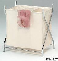 Раскладная корзина для белья металлическая для ванной парикмахерской, гостинницы BS-1207