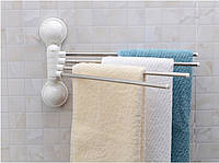 Вешалка для полотенец на 4 планки Towel Rack в ванную