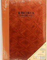 Фотоальбом S3601 240ф  (10х15) подарочный кожанная обложка