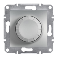 Schneider Electric Asfora Алюминий Светорегулятор 600 ВА, проходной без рамки