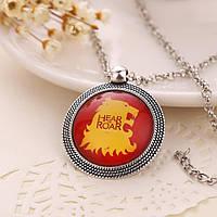 Медальон на цепочке Игра престолов – Дом Ланнистеров