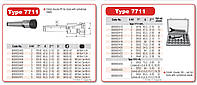 Патрон цанговый 7711-4-ER32 KPL с набором цанг. Патрон цанговый конус морзе 4
