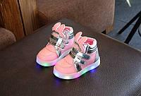 Стильные удобные ботиночки с подсветкой, фото 1