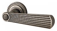 Дверная ручка на розетке Armadillo Romeo CL3 AS-9 Античное серебро