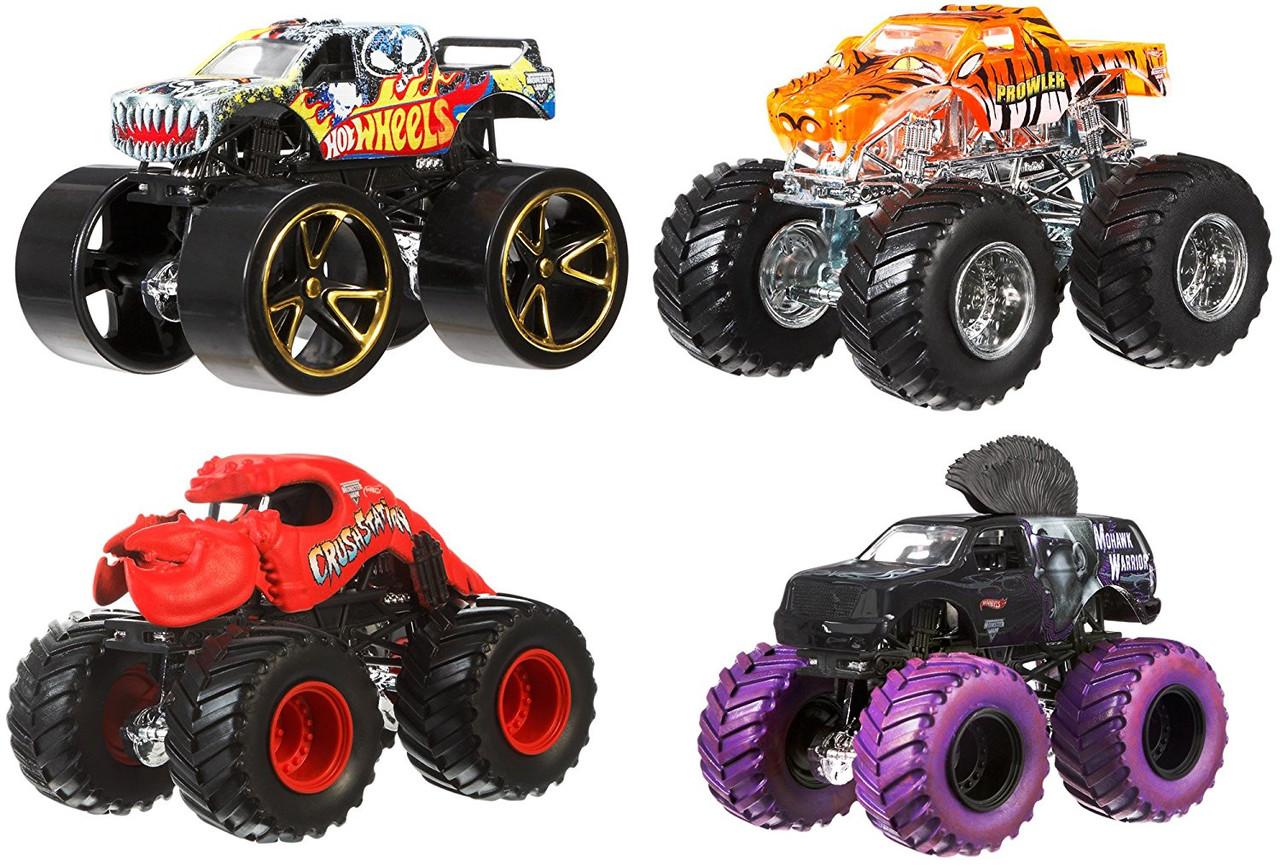 Машинки Хот Вилс Hot Wheels набор Монстер Джем точная копия оригинал Monster Jam Tour Favorites