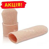 Силиконово-тканевый напальник от мозолей для пальцев ног, 7см