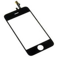 Сенсор (Touch screen) Apple iPhone 3GS + lens black
