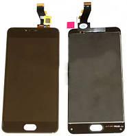 Дисплей (экран) + сенсор (тач скрин) Meizu M3 mini black (оригинал)