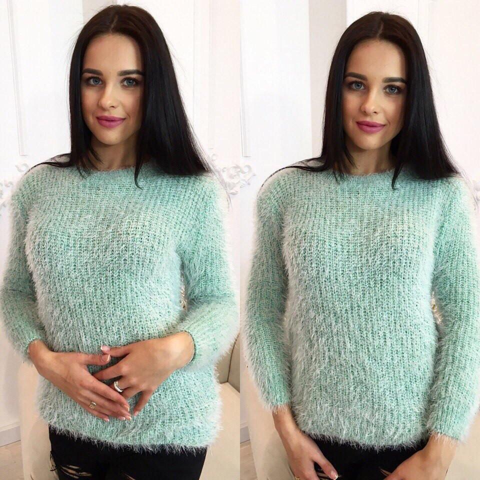 Купить свитер модный женский