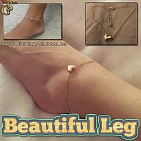 "Браслет на ногу - ""Beautiful Leg"""
