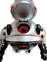 """Робот М 0465 U/R """"Космический воин"""", радиоуправление, стреляет дисками, свет, звук, танцует, бластер., фото 2"""