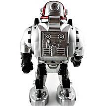 """Робот М 0465 U/R """"Космический воин"""", радиоуправление, стреляет дисками, свет, звук, танцует, бластер., фото 3"""