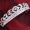 Диадема и серьги Набор БЕЛЛА свадебная бижутерия Тиара Виктория корона свадебная диадемы тиары короны, фото 2