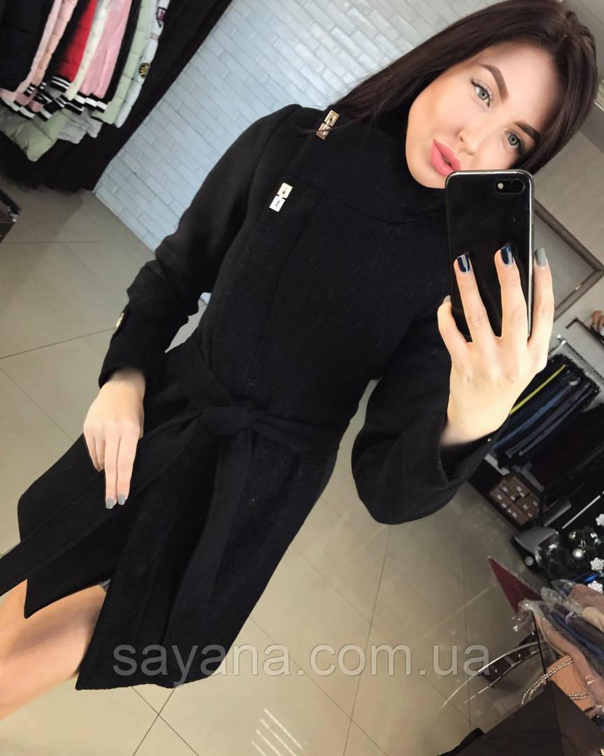 """Женское кашемировое пальто """"Vivea"""" в расцветках. Т-3-0117"""