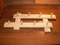 Вешалка банная 8 крючков
