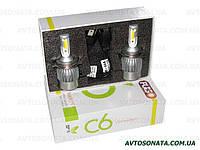 Светодиодные лампы H4 PULSO 12-24V 36W LED P43T H/L/2*280°COB/3800Lm/4300K