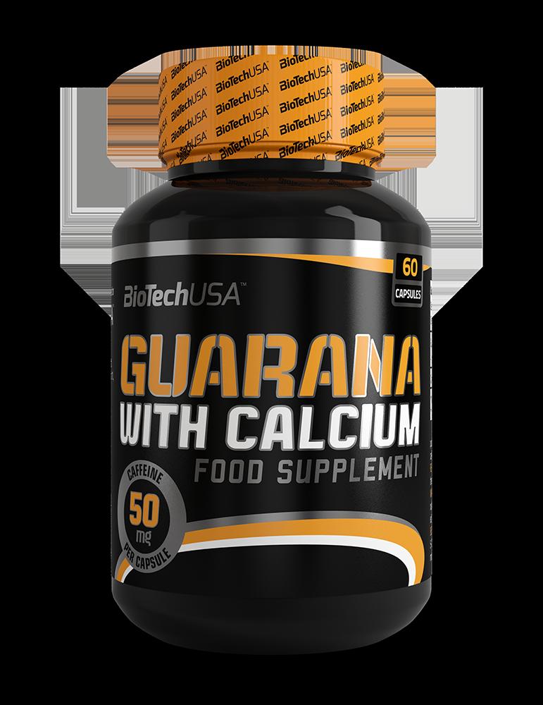 Guarana with Calcium BioTech 60 caps