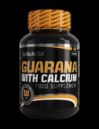 Guarana with Calcium BioTech 60 caps, фото 2