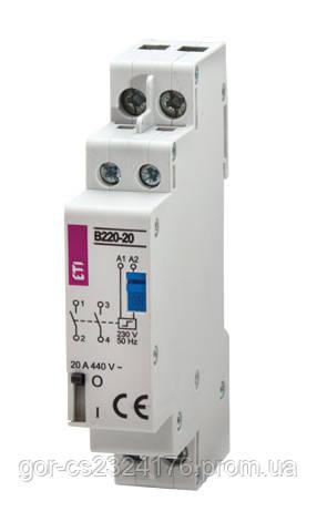 Контактор импульсный RBS 220-20-230V AC (бистабильное реле)