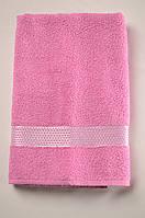 Полотенце банное Papatya Altın 70*140 розовое