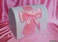 """""""Нежность"""", коробка-сундучок для денежных подарков на свадьбе"""