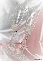 """Кристалл"", бокалы для свадьбы, прозрачный декор"