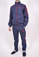Костюм мужской спортивный (цв.темно-синий с красной полосой) 100% полиэстер Clima365+F50 Размеры в наличии : 4