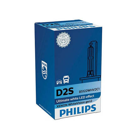 Philips D2S 85122 WhiteVision gen2 +120%, фото 2