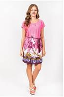Платье женское с пояском из новой летней коллекции