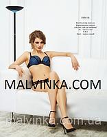 Комплект женского белья Loca lingerie 2102 синий  75В.
