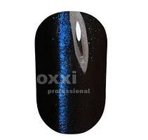 Гель-лак OXXI Super Cat Eyes effect Blue №003 (прозрачный, синяя полоска)
