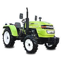 Трактор DW 244 AN  (3 цил., ГУР., (КПП 4+1)х2, пер./зад. груз, комф. сиденье, компрессор, эл. панель)