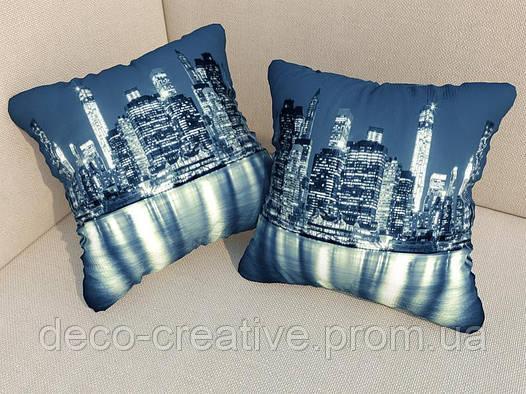 Подушки с фото Нью-Йорк