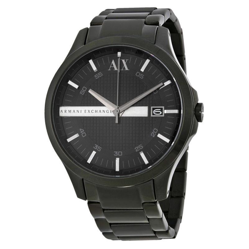 Часы мужские Armani Exchange Hampton Black AX2104