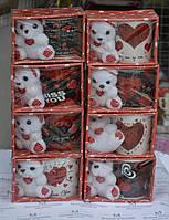 Кружка Love + игрушка в подарочной упаковке