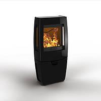 Чугунная печь Dovre Sense 203/E10 эмаль черный глянец - 7 кВт