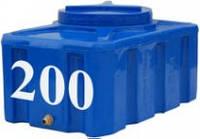 Емкость прямоугольная горизонтальная 200 литров