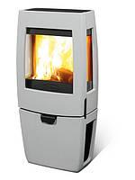 Чугунная печь Dovre Sense 203/E14 светло серая эмаль - 7 кВт
