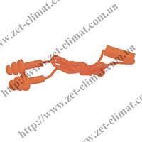 Беруши защитные Truper тройные пара на шнурке (Селикон)