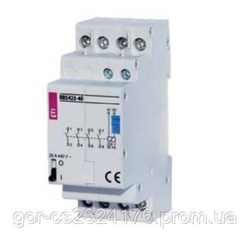 Контактор импульсный RBS 425-40-24V AC (бистабильное реле)
