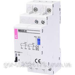 Контактор импульсный RBS 425-2C-24V AC (бистабильное реле)